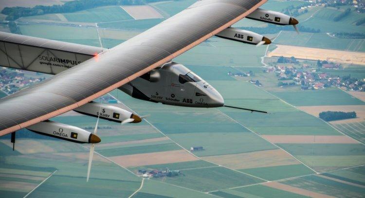 Самолёт Solar Impulse 2 установил новый мировой рекорд