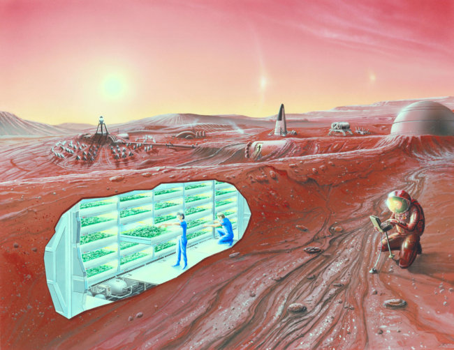 Концепт Марс