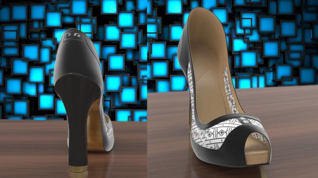 Электронные чернила разнообразят вашу обувь