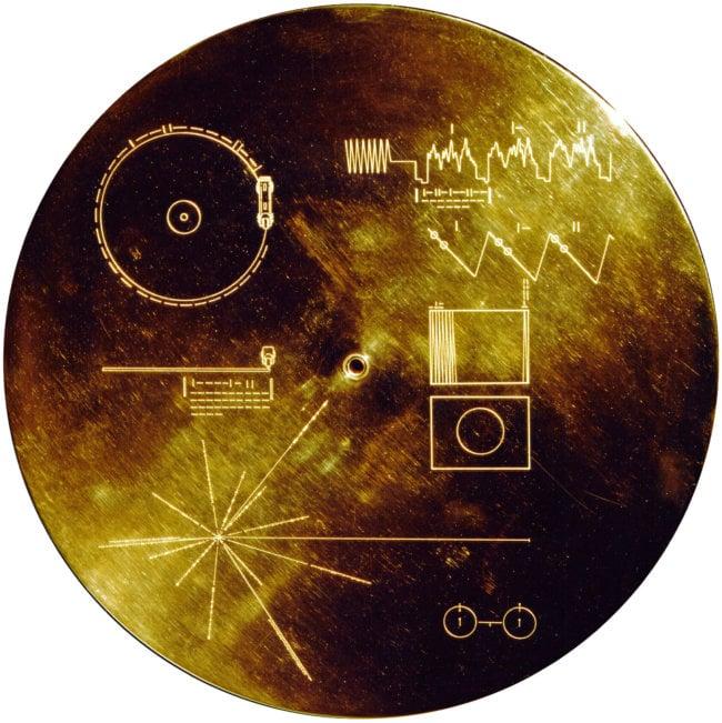 Золотой диск вояджера