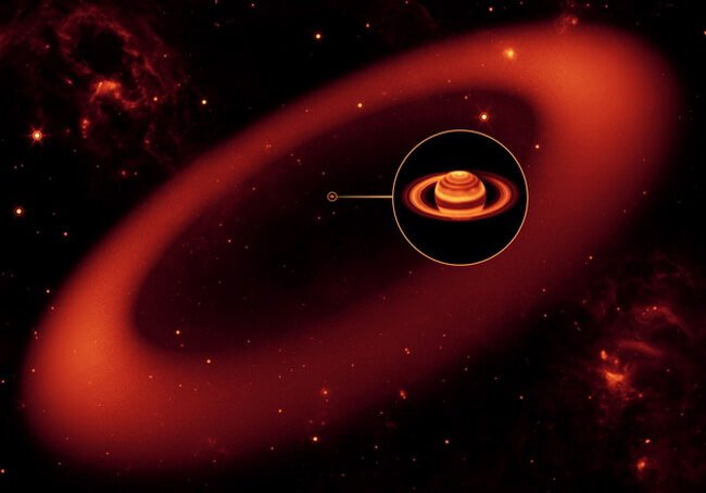 Saturn's Largest Ring