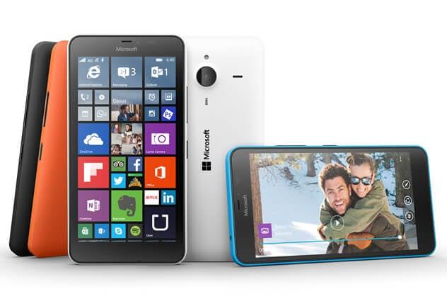 Доступные смартфоны lumia 640 и lumia 640 xl