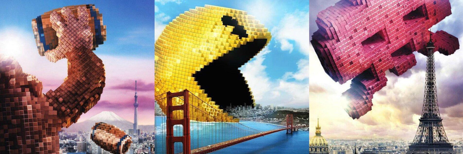 Первый официальный трейлер фильма «Пиксели»