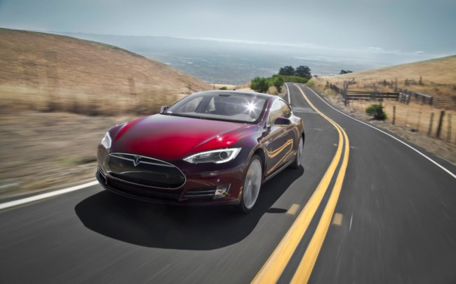 Tesla Model S получил