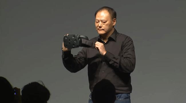 Компания Valve разработала VR-гарнитуру Vive совместно с HTC