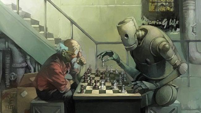 Робот и шахматы