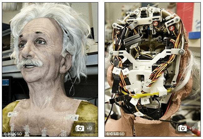 Робот в облике Эйнштейна
