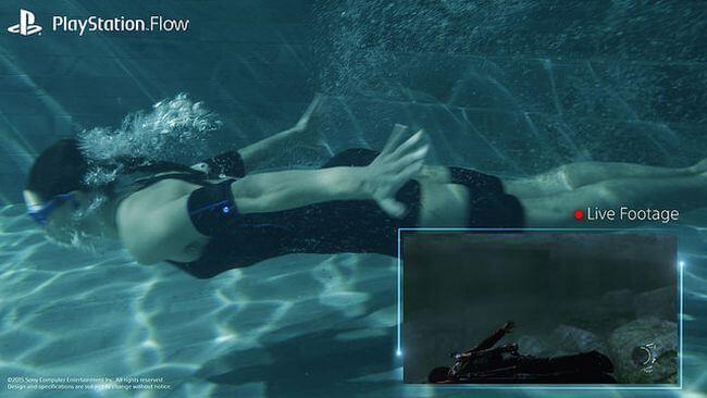 Sony представила гарнитуру виртуальной реальности для подводного плавания