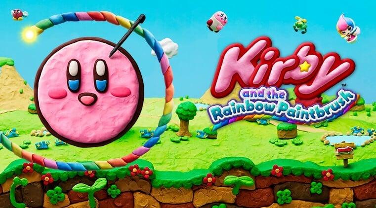Kirby and the Rainbow Paintbrush 01