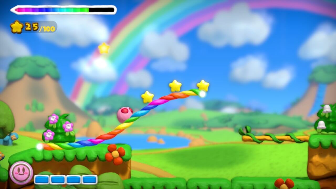 Kirby and the Rainbow Paintbrush 11