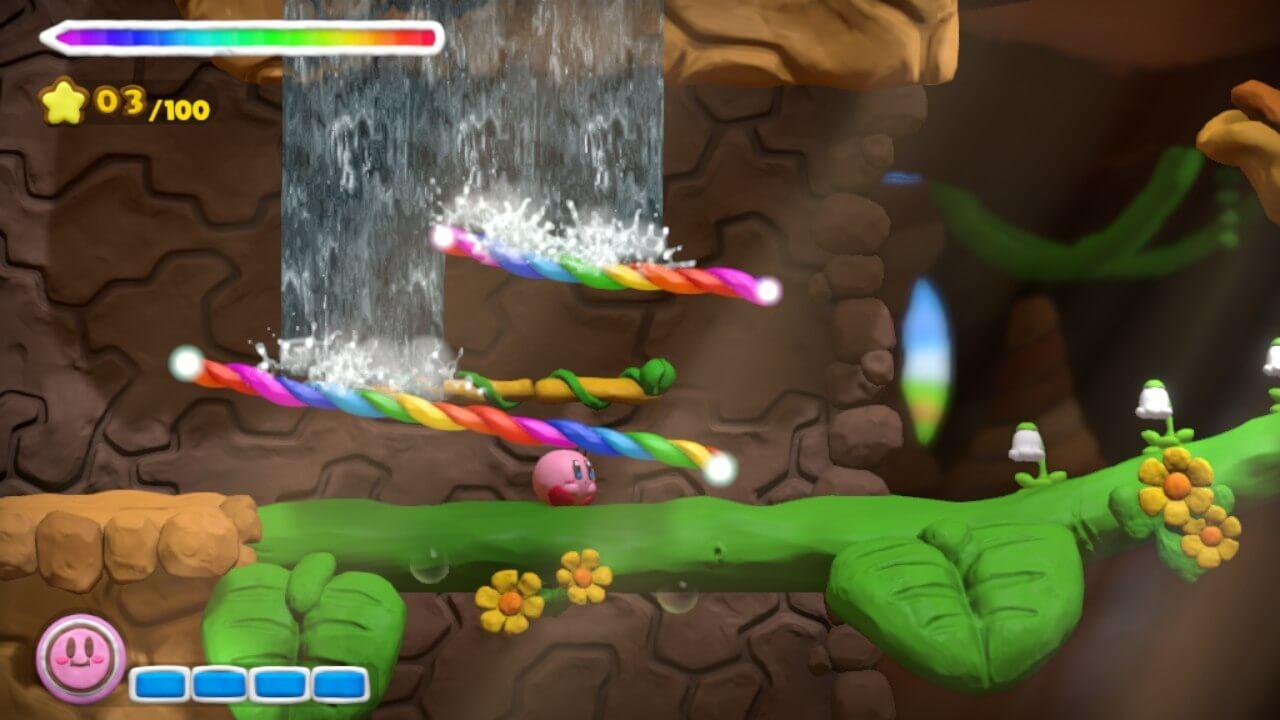 Kirby and the Rainbow Paintbrush 12