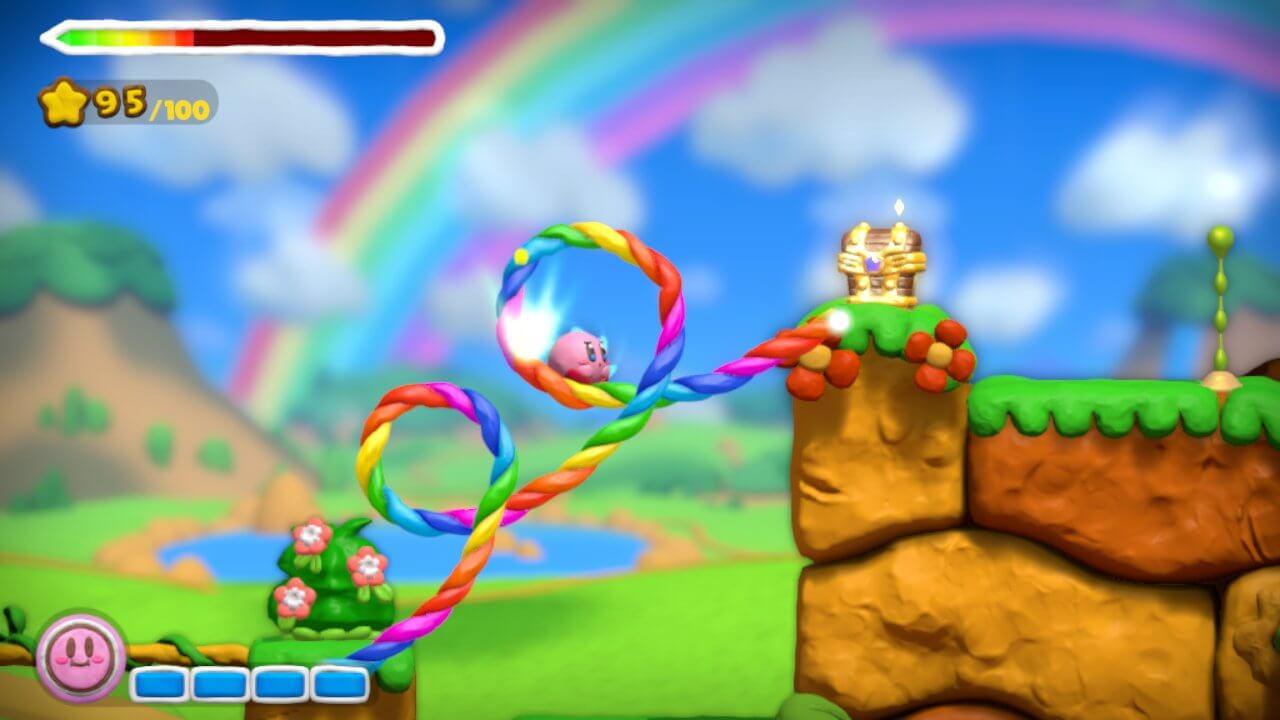 Kirby and the Rainbow Paintbrush 13