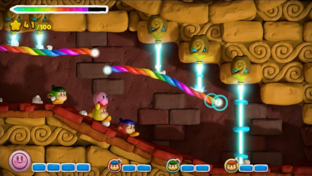 Kirby and the Rainbow Paintbrush 15