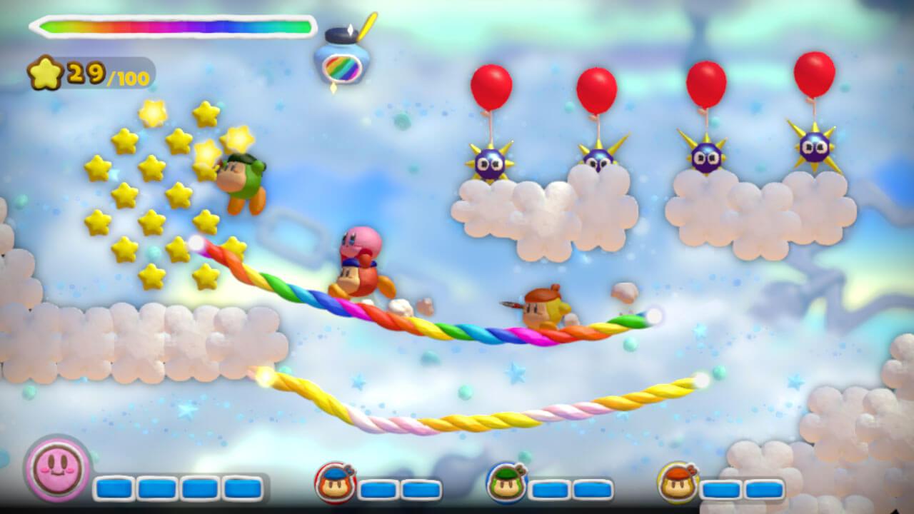 Kirby and the Rainbow Paintbrush 18