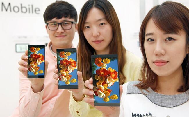 LG анонсировала новые LCD-панели для своих флагманских устройств