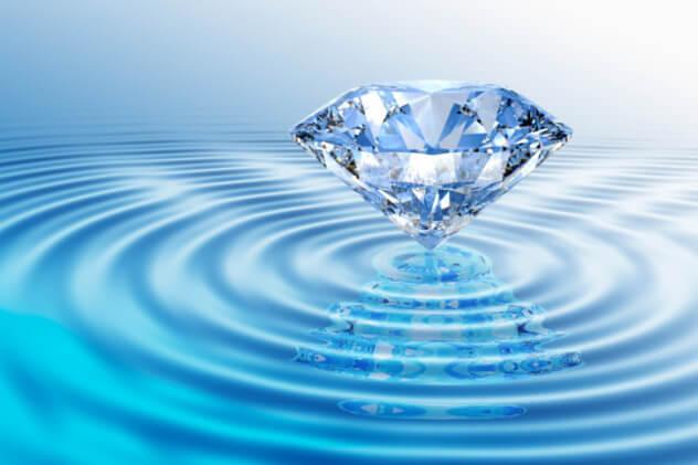 Жидкий алмаз