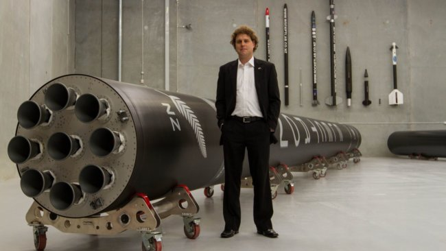 Директор Rocket Lab Питер Бек