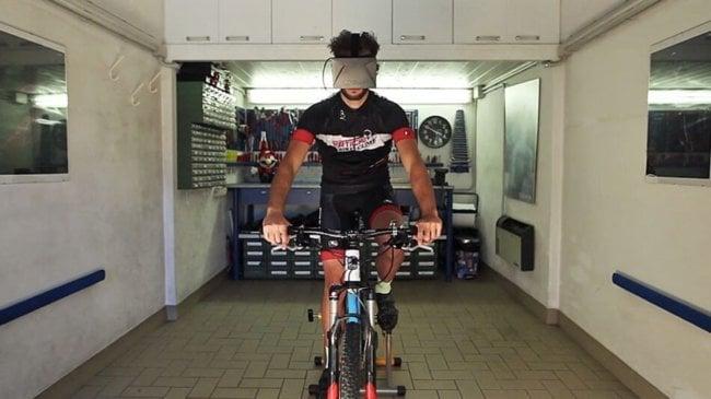 Widerun: верхом на велосипеде в виртуальную реальность