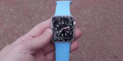 Часы Apple Watch поступили в продажу и тут же подверглись пыткам