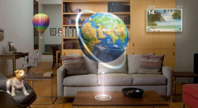Новая демонстрация гарнитуры Microsoft HoloLens
