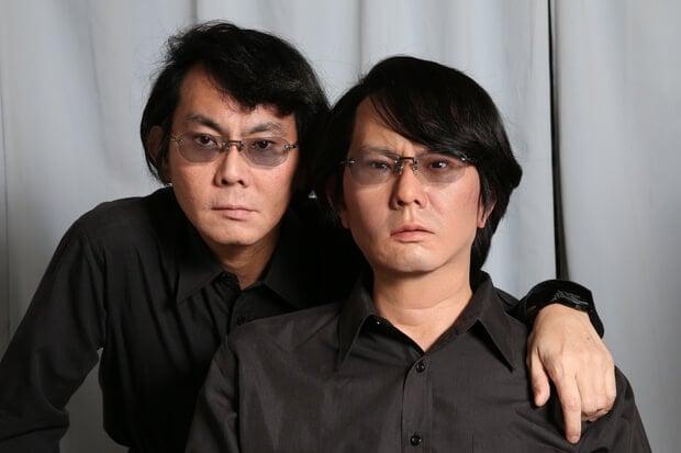 Хироси Исигуро со своей андроид-копией