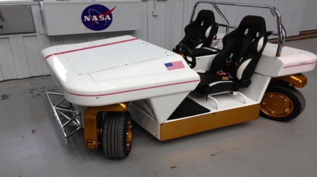MRV – транспортное средство NASA для исследования новых миров