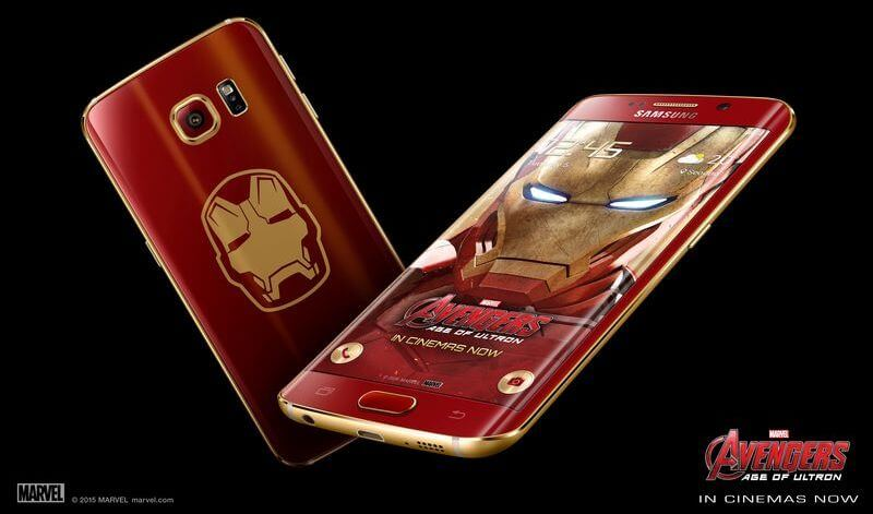 Анбоксинг смартфона Samsung Galaxy S6 Edge в стиле Iron Man