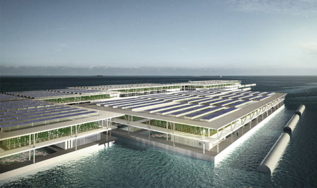 Smart Floating Farm