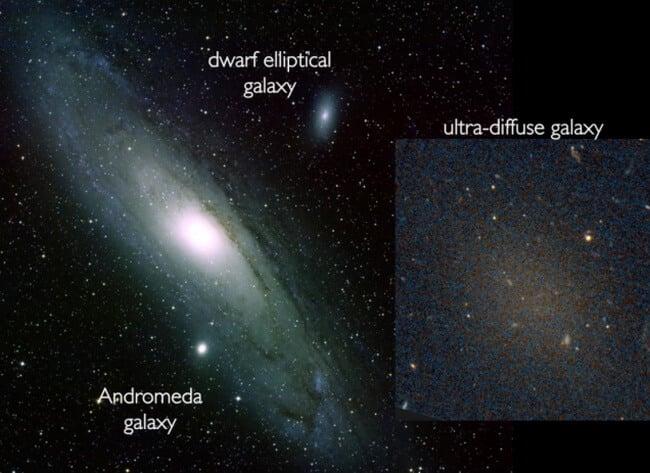 Когда возможно невозможное, или новый тип галактик (2 фото)
