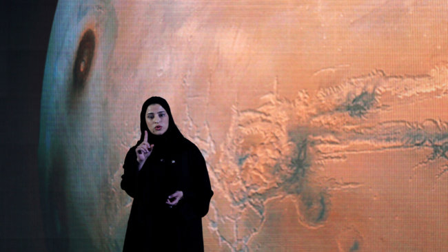 Арабские шейхи планируют собственную космическую миссию на Марс