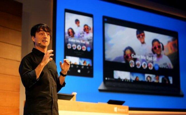 Демонстрация Windows 10