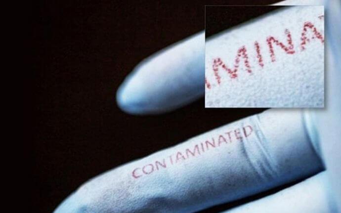 Учёные разработали перчатки, предупреждающие о наличии опасных бактерий