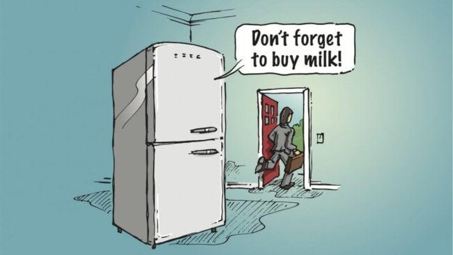 Холодильник будущего в искусстве