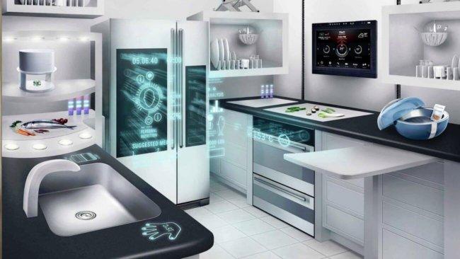 Кухня будущего в искусстве