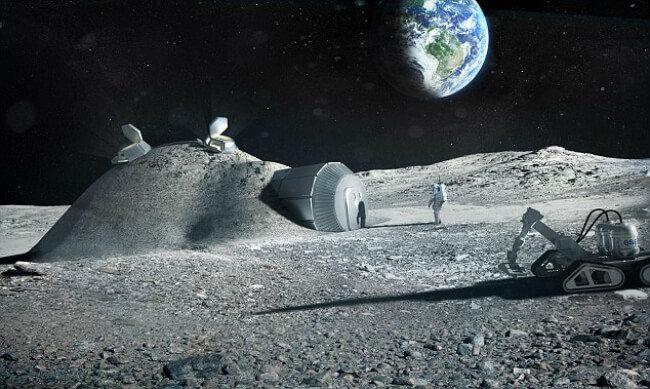 Лунная база ESA