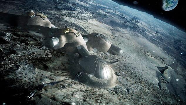 Місячна база ESA - проект