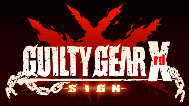 Guilty Gear Xrd Sign 01