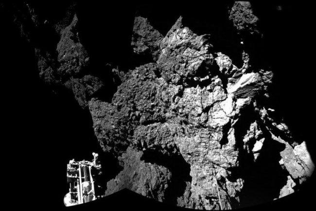 Приземление на комету