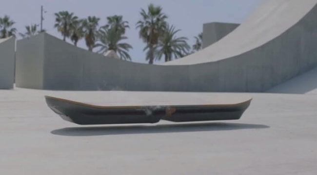 Lexus показала бамбуковый ховерборд