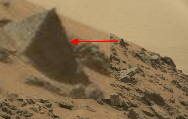 Марсианская пирамида