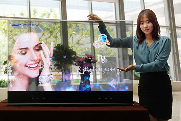 Прозрачный дисплей Samsung