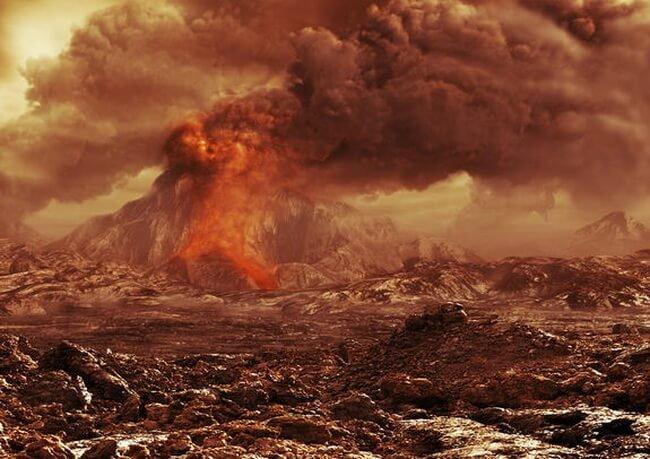 volcano-venus