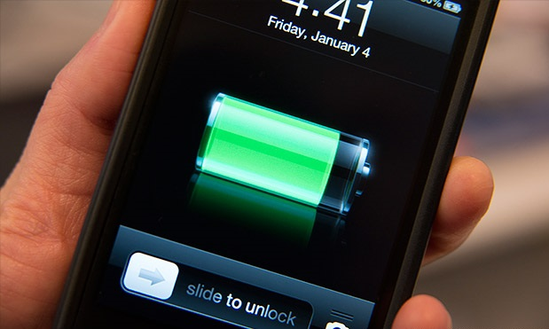 Заряд батареи смартфона