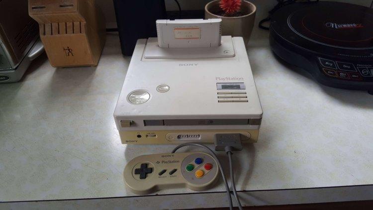 Найден редчайший прототип совместной игровой консоли Sony и Nintendo