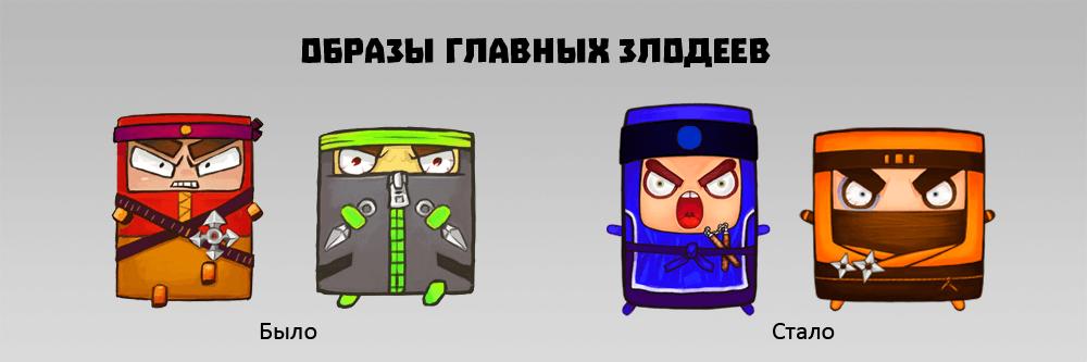 История разработки мобильной игры Cubic Ninja