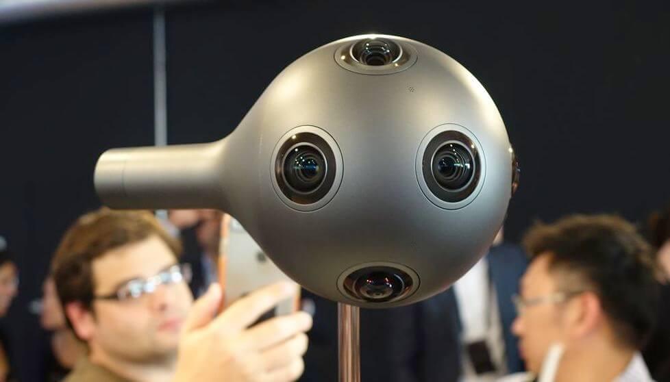 Nokia представила камеру для съёмки VR-фильмов