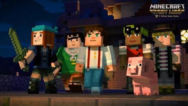 Официальный трейлер сюжетного режима игры Minecraft