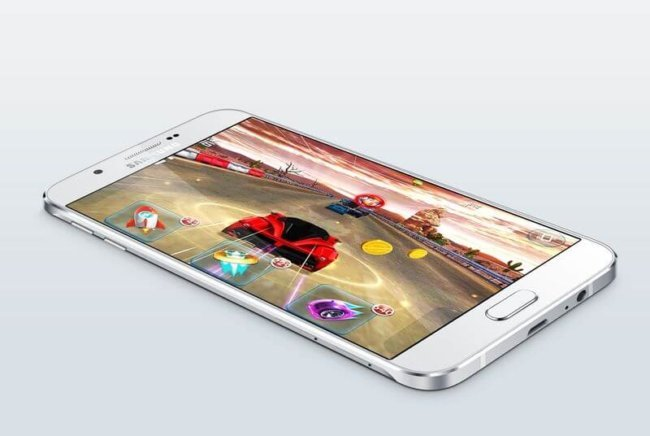 Samsung представила свой самый тонкий смартфон Galaxy A8