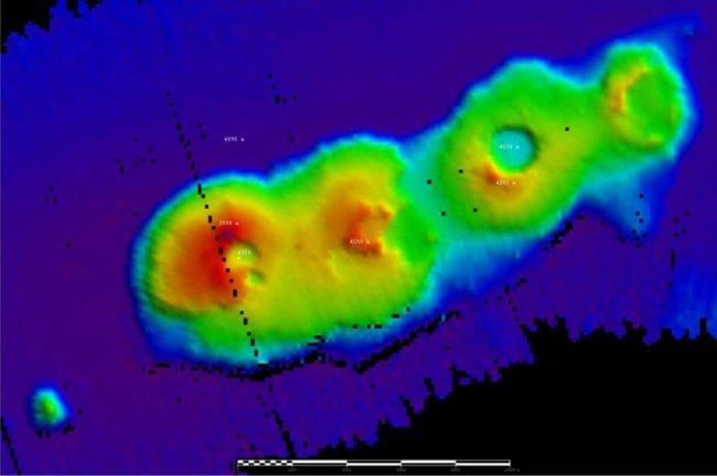 У берегов Австралии обнаружены неизвестные подводные вулканы