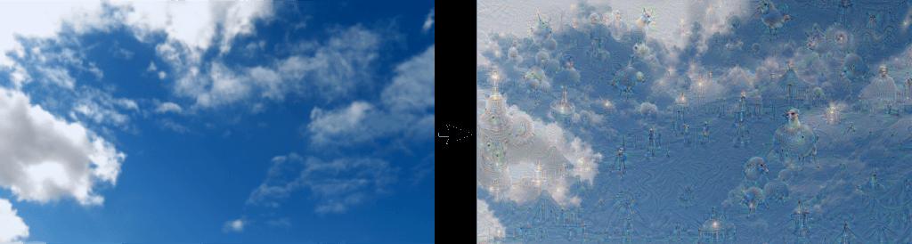 «Сны» нейронных сетей Google одновременно удивительные и тревожные
